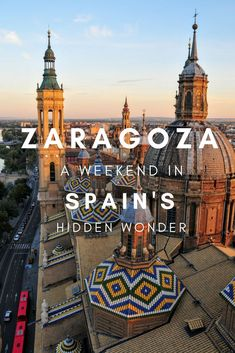 Spain is full of places to explore both big and small. Zaragoza is a large city with a small city charm. Find out why Zaragoza is Spain's hidden wonder! Europe Destinations, Europe Travel Tips, European Travel, Travelling Europe, Travel Goals, Travel Guides, Traveling, Spain And Portugal, Spain
