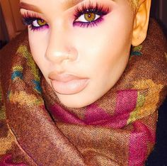 ✨@Alissa.Ashley✨ looks so stunning! Love the vibrant colors paired with Flutter® Lashes in lash style #Ashlin