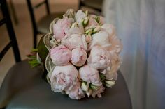 pale pink peonies and spray roses. Bradaustin.com