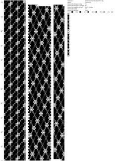 18 around tubular bead crochet rope pattern.