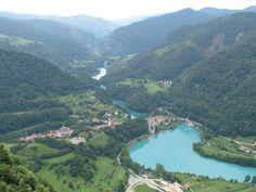 Pogled na strugo reke Soče. #Slovenia