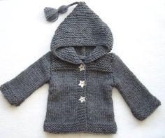 ebb6d9bfed01 Tuto tricot, bébé, enfant, français, gratuit Gilet Bebe Tricot, Modèle  Tricot