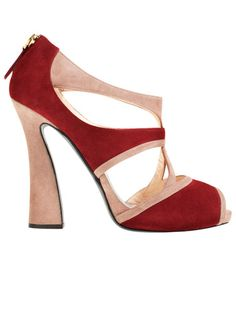 Giorgio Armani shoes #fashion #red #pumps