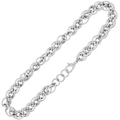 24 Inches - Inox Jewelry Women's Textured 316L Stainless Steel Link Necklace | Body Candy Body Jewelry