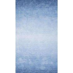 Ombre Bernetta Blue 5 ft. x 8 ft. Area Rug