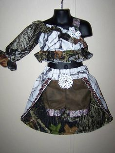 Items similar to Camo OOC pageant wear winter camo and mossy oak on Etsy Baby Pageant, Glitz Pageant, Pageant Wear, Winter Camo, Pageants, Dance Costumes, Short Skirts, Tutu, Kid Dresses