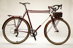 Something about braze on cable stops that are just beautiful, bicycles, randonneur