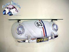 Fusca Herbie: Que tal colocar seu Fusca Herbie dentro de casa???