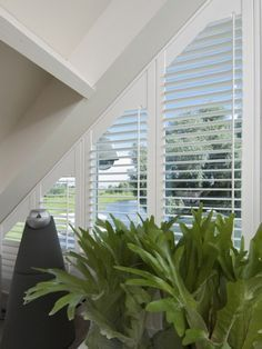 triangular window treatment ideas - Google Search