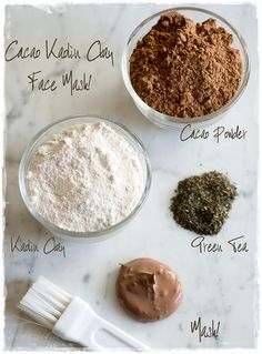 Clay Cacao Face Mask - Inspire Beauty Tips