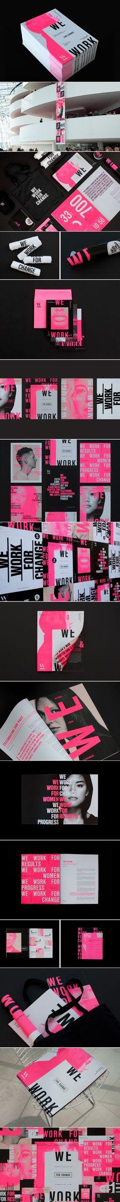 Women's Foundation 25th anniversary campaign branding by Morgan Stephens | Fivestar Branding Agency – Design and Branding Agency & Curated Inspiration Gallery  #women #branding #printdesign #identity #design #behance #dribbble #pinterest #fivestarbranding