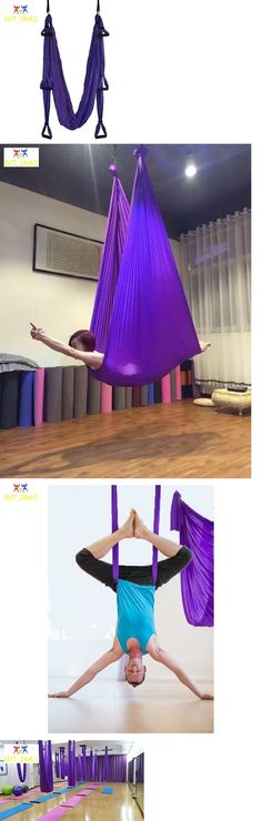 yoga props 179809  aerial yoga hammock swing trapeze 2 extension straps and suspension ceiling hooks   u003e buy it now only   69 55 on ebay  yoga props 179809  aerial yoga hammock swing trapeze 2 extension      rh   pinterest