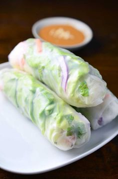 These Fresh Spring Rolls with Spicy Peanut Sauce are super filling, loaded with veggies and dipped in the most luscious spicy peanut sauce. It's the perfect way to jazz up any lunch.