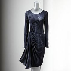 Simply Vera Vera Wang Ruched Dress