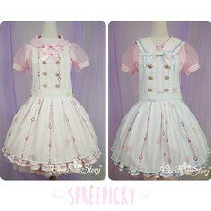 【la robe de cinderella】removable knotbow stripes strap dress free ship sp140597