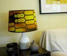Love the retro honeycomb