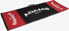 Adams Golf Players Towel 16X32 - Black/White/Red by Adams Golf, http://www.amazon.com/dp/B007RGPL5E/ref=cm_sw_r_pi_dp_sMPqrb0YMZ52H