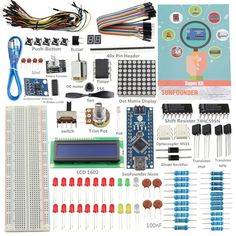 New SunFounder 19 Projecst Super Starter Kit v2.0 with Mini USB Nano V4.0 ATmega328P 5V Micro-controller Board For Arduino     Tag a friend who would love this!     FREE Shipping Worldwide   http://olx.webdesgincompany.com/    Get it here ---> http://webdesgincompany.com/products/new-sunfounder-19-projecst-super-starter-kit-v2-0-with-mini-usb-nano-v4-0-atmega328p-5v-micro-controller-board-for-arduino/