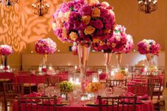 I love pink and I love weddings and I think this is so cute!