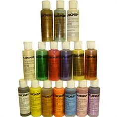 AmeriMist 12 Color Pearlescent 4.5 Ounce Airbrush Food Color ...