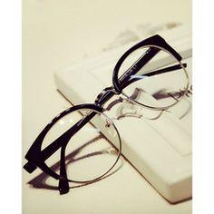 Online Shop 2015 New Fashion Men Women Unisex eyewear Metal Frame Cat Eye Rimless computer Vintage Oculos De Grau Brand Design|Aliexpress Mobile