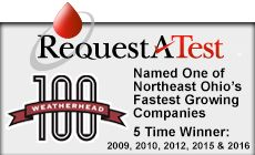 Named Weatherhead 100 - one of Northeast Ohio's Fastest Growing Companies