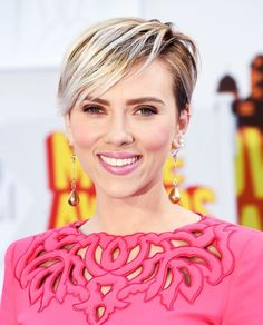 Scarlett Johansson's Pixie at the MTV Movie Awards Is Giving Us Serious Hair Envy #InStyle, (haircut: Holly Jones)