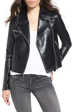 Free shipping and returns on Vigoss Faux Leather Moto Jacket at Nordstrom.com. A raw-edge moto jacket cut from supple faux leather adds low-key luster to your look with an asymmetrical zipper and plenty of pockets for stashing night-out essentials.