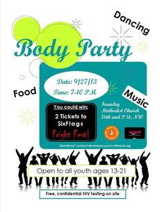 Youth Party this weekend