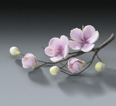 8 Cherry Blossom Flower Branches For Weddings And Cake Decorating ...