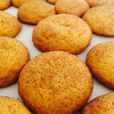 Introducing the Saffron Vanilla Snickerdoodle! These sweet treats are ...