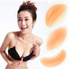 1 pair Silicone Bra Push Up Inserts Pad Breast Enhancer