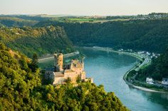 Rhine River Germany   Germany's Rhine - A Drive Along the Upper Middle Rhine Valley