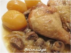 Pollo express en salsa - Belenciaga paso a paso Pollo Guisado, Pollo Chicken, Cooker, Meat, Recipes, Wmf, Food, Instant Pot, Chicken Recipes