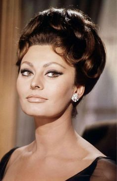 Sophia Loren  1960's.  The most beautiful woman in the world (IMHO):