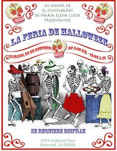 Day of the Dead Dia de los muertos Party fiesta by Vintagebabydoll, $15.00