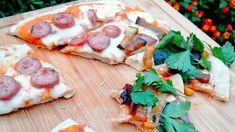 Cómo hacer pizza casera sin horno ni levadura #pizzacasera #pizzasinhorno #pizzaensarten #yomequedoencasa #quedateencasa Vegetable Pizza, Vegetables, Food, How To Make Pizza, Oven, Homemade, Essen, Vegetable Recipes, Eten