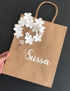 Fiesta Discover Paper Flowers Template Cherry Blossom Flower - DIY Gifting for Weddings Bridal & Baby Shower Re-sizable PNG Cricut Silhouette Template Diy Flowers, Paper Flowers, Flower Diy, Diy Gift Box, Diy Gifts, Diy Gift Wrap, Paper Gift Bags, Paper Gifts, Creative Gift Wrapping
