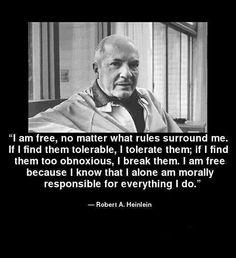 I alone am responsible