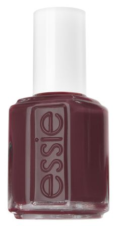 Obsessed with this creamy, deep burgundy Essie nail polish for fall.