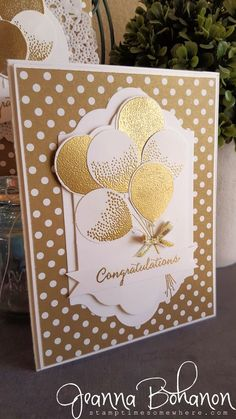 OSAT Blog Hop Stampin' Up! Balloon Celebrations Jeanna Bohanon 1
