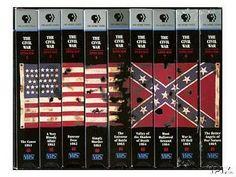 the civil war series Ken Burns Ken Burns, Video Home, Vhs Tapes, Video Film, Will Turner, Civilization, Documentaries, War, Full Set