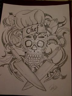 chefs tattoos - Google Search