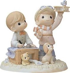 Precious Moments We've Got The Wright Plan - http://www.preciousmomentsfigurines.org/precious-moments/precious-moments-weve-got-the-wright-plan/