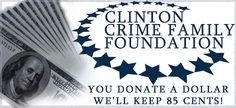 "The Bombardment of the Clinton Crime Family Foundation Continues | Rush Limbaugh | April 23, 2015 | ""RUSH: I'll tell you, folks, the bomb bay doors remain open, and there are more bombs dropping on the Clintons even as we speak. ... ""Judicial Watch announced that it has received 126 pages of documents from the State Department related to Hillary Clinton's possible conflicts of interest regarding her position as secretary of state. The initial Freedom of Information Act (FOIA) request was…"