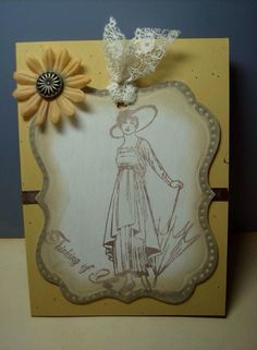 Lady Daisy card