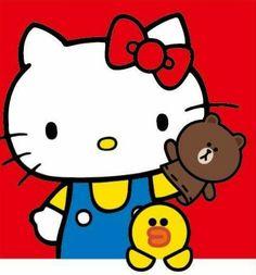 Hello Kitty x Line Friends
