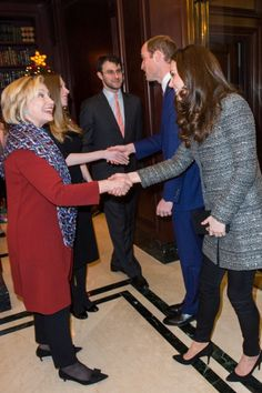 HIlary Clinton and Kate Middleton