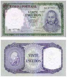 20 escudos II , 1962