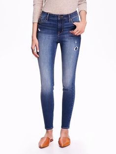 High-Rise Rockstar Distressed Jeans  ~Definitely on my list on what to buy tomorrow